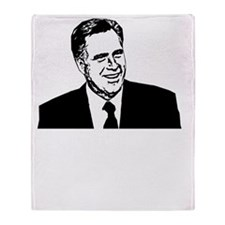 Romney2012Bk Throw Blanket