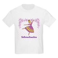 Personalize Your Purple Ballerina! T-Shirt