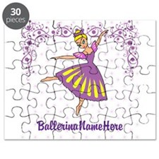 Personalize Your Purple Ballerina! Puzzle