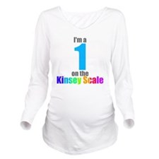 kinsey-1 Long Sleeve Maternity T-Shirt