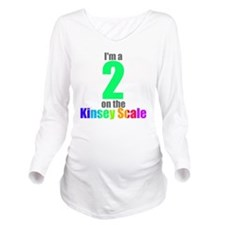 kinsey-2 Long Sleeve Maternity T-Shirt