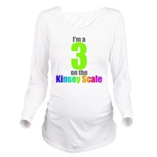 kinsey-3 Long Sleeve Maternity T-Shirt