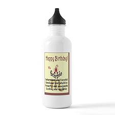 card-scorpio Water Bottle