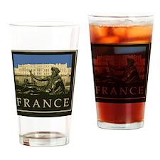 France1Postcard Drinking Glass