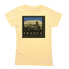 France1Postcard Girl's Tee