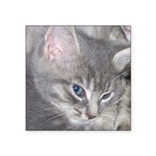 """Baby Gracie with her Mom Square Sticker 3"""" x 3"""""""