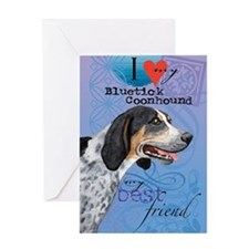 bluetick-kindle Greeting Card