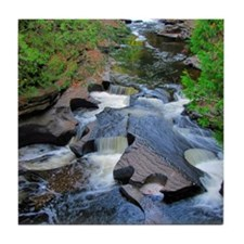 Presque Isle River Tile Coaster