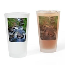 Presque Isle River Drinking Glass
