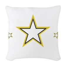 SoldiersHeart1_DarkShirt Woven Throw Pillow