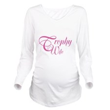 SailorTrophyWife_Dar Long Sleeve Maternity T-Shirt