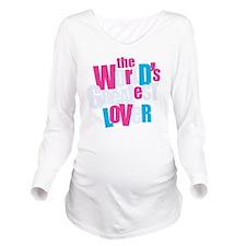 WorldsGreatestLover_ Long Sleeve Maternity T-Shirt
