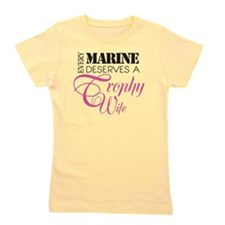MarineTrophyWife Girl's Tee