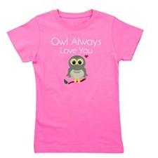 OwlAlways_DarkShirt Girl's Tee