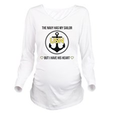 SailorHeart Long Sleeve Maternity T-Shirt