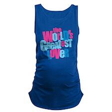 WorldsGreatestLover_LightShirt Maternity Tank Top