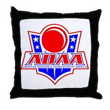 Dodgeball-ADAA Throw Pillow