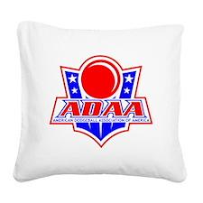 Dodgeball-ADAA Square Canvas Pillow