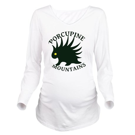PorcupineMountains Long Sleeve Maternity T-Shirt