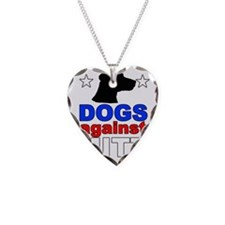 dogagainstmitt1 Necklace