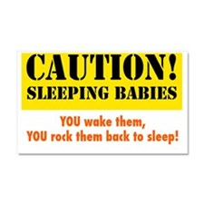 sleepingbabies Car Magnet 20 x 12