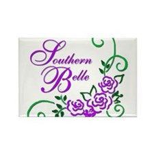 Southern Belle Rectangle Magnet