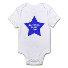 Sanjaya Is My Idol Infant Bodysuit