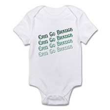 Irish Erin Go Braugh Infant Bodysuit