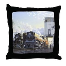 john_street_morning Throw Pillow