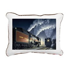 night_meet Rectangular Canvas Pillow