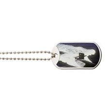 houston rectanle manet Dog Tags