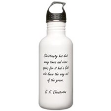 Christianity rising Sports Water Bottle