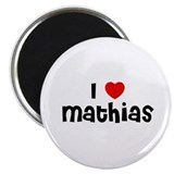 "I * Mathias 2.25"" Magnet (10 pack)"