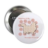 "Norwegian Happiness 2.25"" Button (10 pack)"