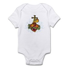 Sacred Heart Infant Bodysuit