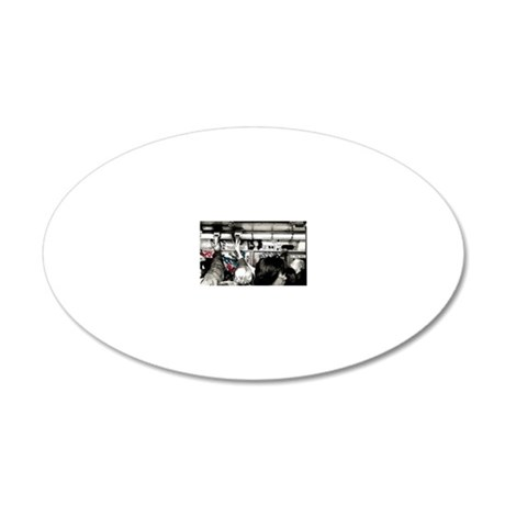 s80 Rush Hour 20x12 Oval Wall Decal