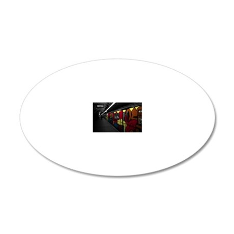 s80 Platform 20x12 Oval Wall Decal
