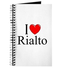 """I Love Rialto"" Journal"