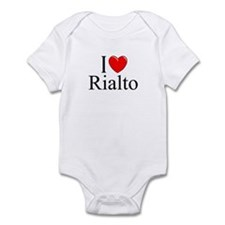 """I Love Rialto"" Infant Bodysuit"