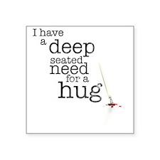 hug Square Sticker 3