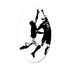 b+w bid final Oval Car Magnet