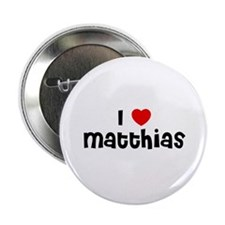 "I * Matthias 2.25"" Button (10 pack)"