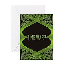time warp iph4 Greeting Card