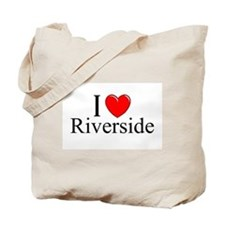 """I Love Riverside"" Tote Bag"