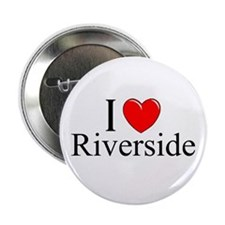 """I Love Riverside"" Button"
