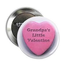 """Grandpas valentine girl 2.25"""" Button"""