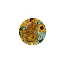 iphone 2b_Van Gogh Sunflowers Mini Button