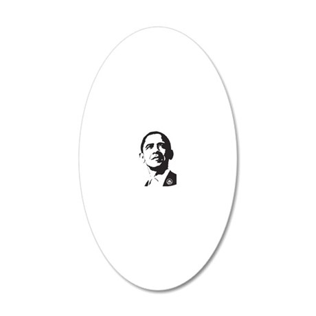 cp287 20x12 Oval Wall Decal
