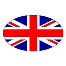 Union Jack Flag Decal