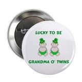 Grandma O' Twins Button